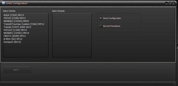 UCDS Direct Configuration