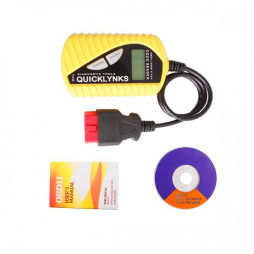 Original Quicklynks T40 Factory OBD2 Scanner/Auto Basic Code Reader T40 Support Multi-Language