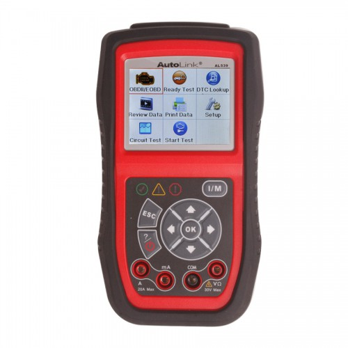 Original Autel AutoLink AL539 OBDII/EOBD/CAN Scan and Electrical Test Tool Online Update