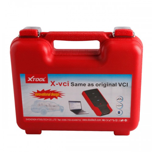 X-VCI for Car Full Set for Toyota/Honda/Subaru/Mazda/LandRover/Jaguar/GM (Including 2 CDs)