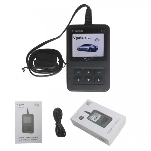 New Arrival Vgate E-SCAN V10 Petrol Car and Light Truck Scan Tool