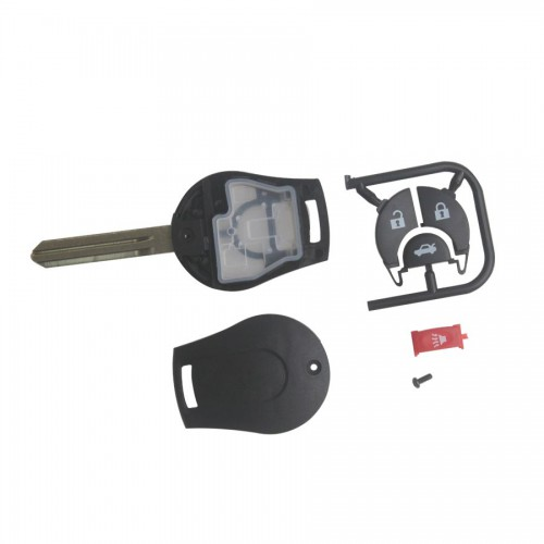 Remote key Shell 4 Buttons for Nissan March 5pcs/lot