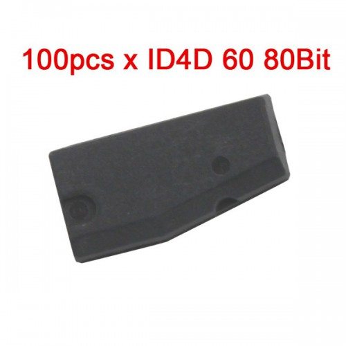 100pcs/lot ID4D(60) Transponder Blank Chip (80Bit)