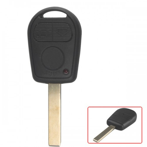 Transponder Shell 3-button 2 Track (with Plastic Mat) for BMW 10pcs/lot
