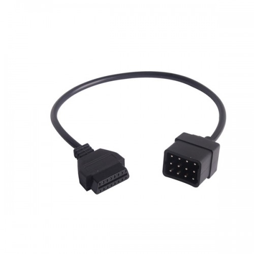 12Pin OBD OBD2 Connector Diagnostic Adapter For Renault