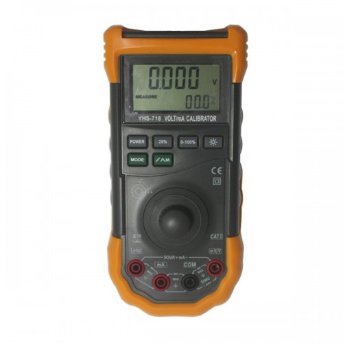 New Original YH-718 Loop Volt and mA Signal Source Process Calibrator Meter Tester