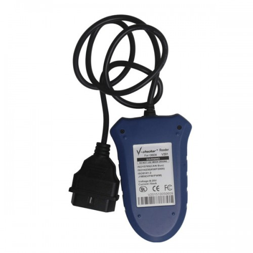 Super V-Checker V201 Professional OBD2 Scanner with Canbus Free shipping