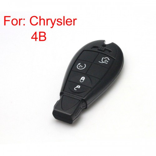 Smart Key Shell 4 Button for Chrysler Free Shipping