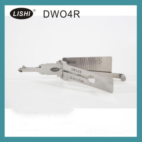 LISHI DWO4R 2-in-1 Auto Pick and Decoder for Buick (LOVA/Excelle/GL8) and Chevy