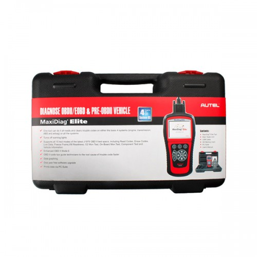 Autel MaxiDiag Elite MD702 Four System with Data Stream European Vehicle Diagnostic Tool Ship from US