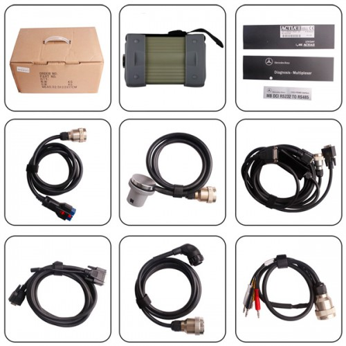 V2015.09 Mb Star C3 Pro with 7 Cables plus USB to RS232 Convertor Fits to All Laptops