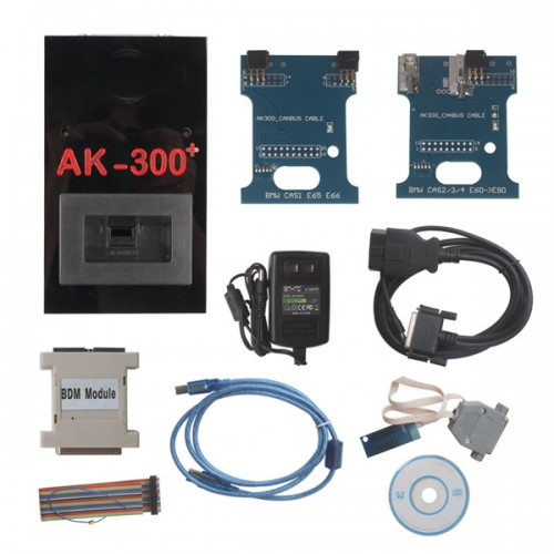 Original AK300+ V1.5 Key Maker for BMW CAS (From 2002-2009)