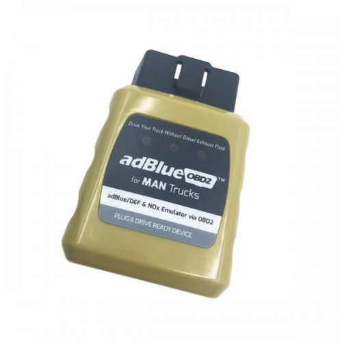 Ad-blue-OBD2 Emulator for MAN Trucks Plug and Drive Ready Device by OBD2