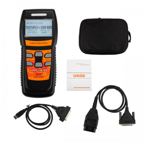 U600 OBD2 CAN Scanner Code Reader Live Data New for VW/AUDI Free Shipping