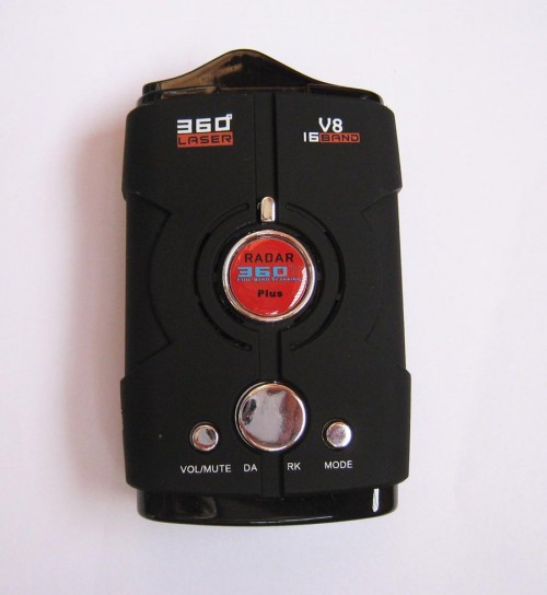 KOLSOL V8 Black 360° Full-Band Scanning Advanced Radar Detectors Laser Defense Systems