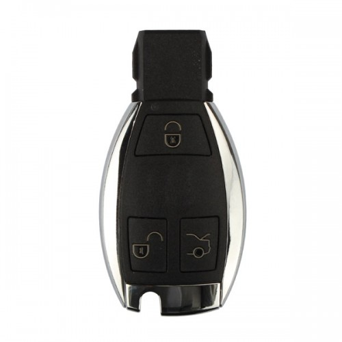 Smart Key Shell 3 Button with the Plastic Board for Benz