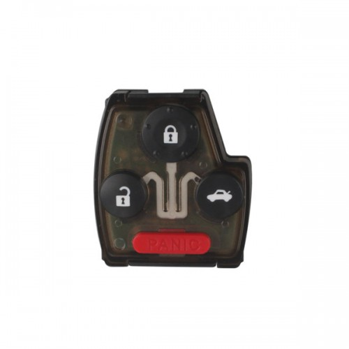 Remote Key (3+1) Button and Chip Separate ID:46 (433 MHZ) for 2005-2007 Honda Fit ACCORD FIT CIVIC ODYSSEY