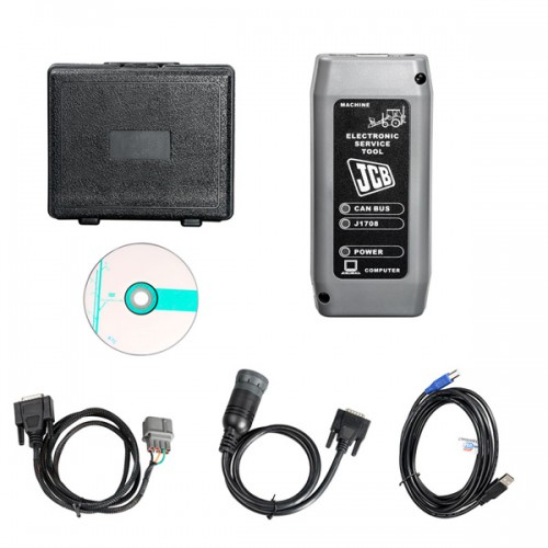 V8.1.0 Electronic Service Tool Diagnostic Interface Heavy Duty Scanner for JCB SM4.1.45.3