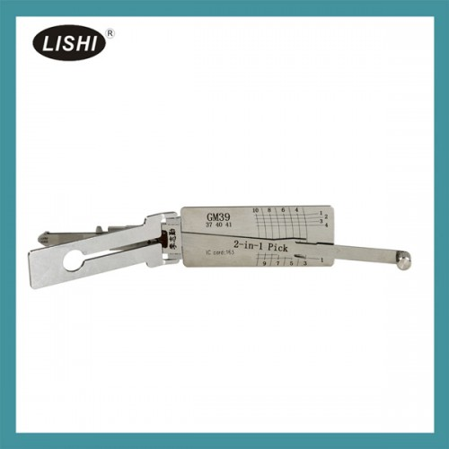 LISHI GM37 39 40 41 2 in 1 Auto Pick and Decoder for GMC, Buick and HUMMER