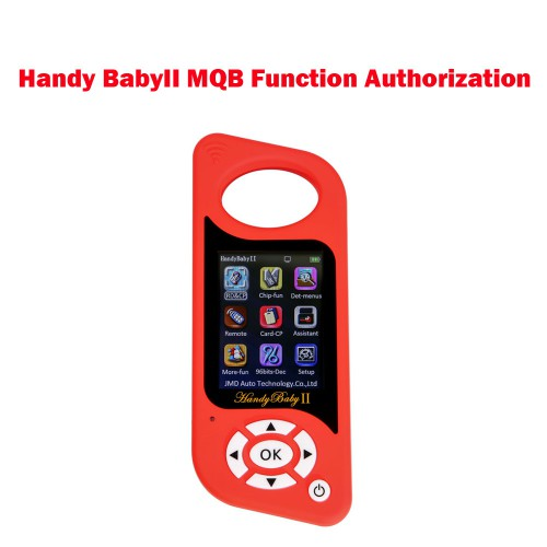 MQB Function Authorization for Handy Baby2 Key Programmer