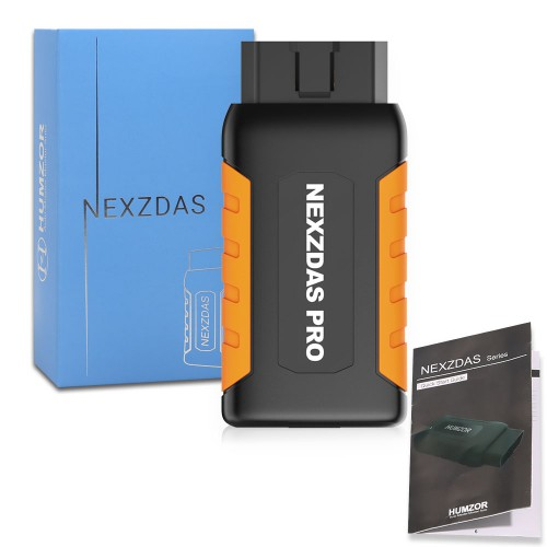 (UK, US Ship No Tax) Humzor NexzDAS Pro Full-system Bluetooth Auto Diagnostic Tool OBD2 Scanner Car Code Reader with Special Functions