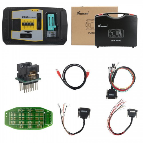 (Ship from UK/US,No Tax) Xhorse VVDI-Prog VVDI Prog Programmer Get Free BMW ISN Read Function and NEC, MPC, Infineon etc Chip