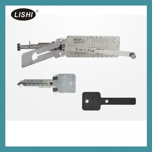 LISHI NE66 2-in-2 Auto Pick and Decoder for VOLVO