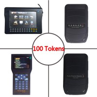 Original Update Tokens for Digimaster 3/CKM100/CKM200/ADM-300A 100 tokens Per lots