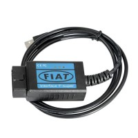 Latest Fiat Scanner OBD2 EOBD USB Diagnostic Cable