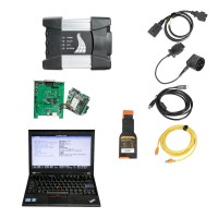 V2021.01 Wifi BMW ICOM NEXT A + B +C  with Laptop Lenovo X220 I5 CPU 1.8GHz 4GB Memory