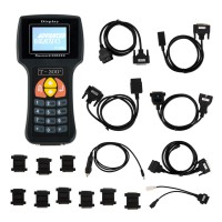 V2017.17.8 T300 T300+ Key Programmer English Version BLACK