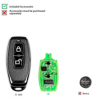 Xhorse XKGD12EN Wire Remote Key Garage Door English Version
