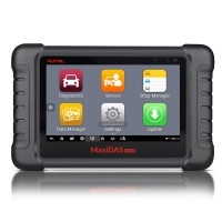 (EU,US Ship No Tax) AUTEL MaxiDAS DS808 Kit Android Tablet Diagnostic Tool Full Set Supports Online Update with Injector Coding/Key Coding