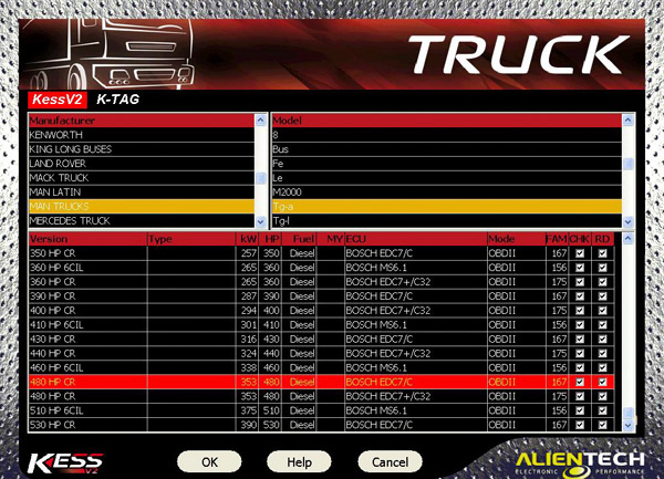 Truck kess v2 software