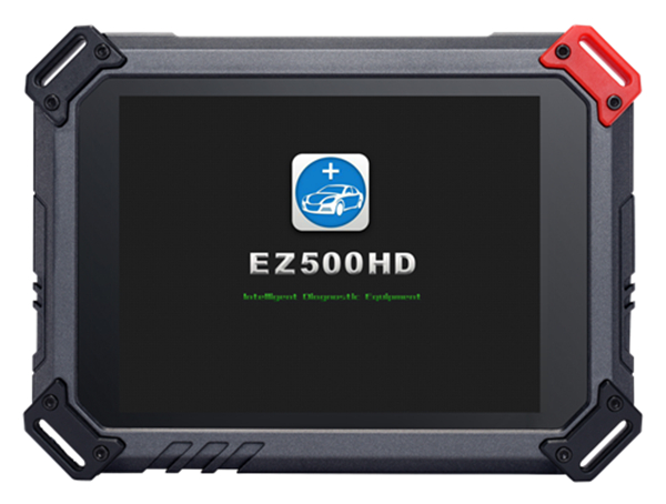 Front View of EZ500 HD Tablet