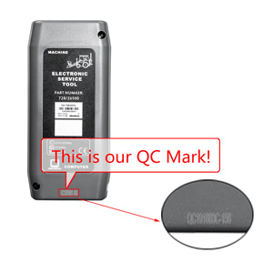 Electronic Service Tool  QC MARK