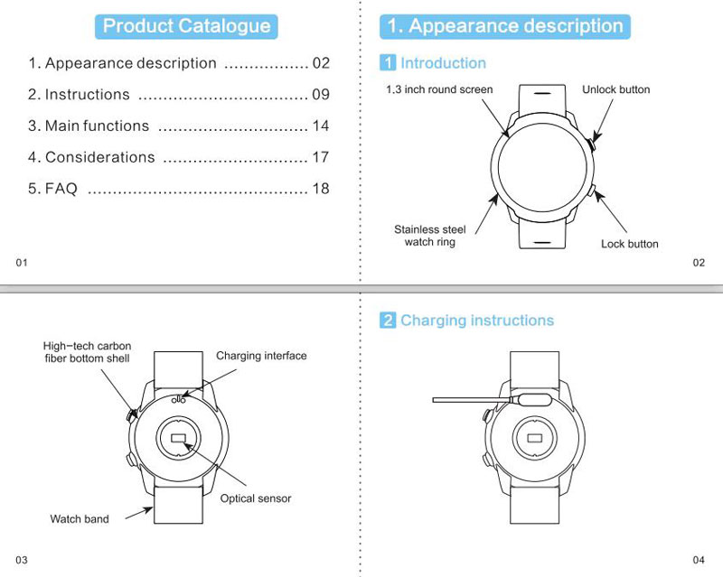 KD Smart Watch User Manual 1