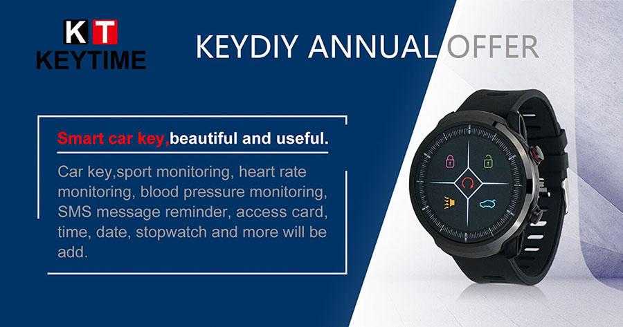 Original LCD KEYDIY KD Smart Watch KD-SW02